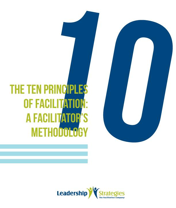 Ten Principles ebook: The Facilitator's Methodology